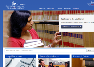 GSU_Law_Library_Homepage