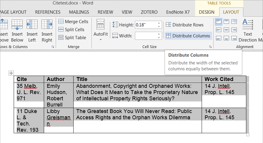 formatting the citation report faculty citation reports